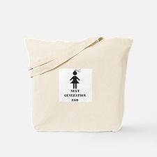 EOD BRATS 4 GIRLS Tote Bag