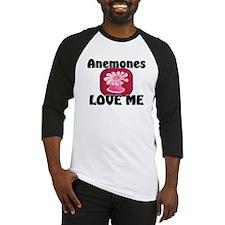 Anemones Love Me Baseball Jersey