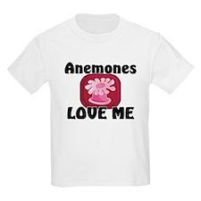 Anemones Love Me Kids Light T-Shirt
