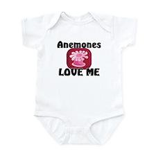 Anemones Love Me Infant Bodysuit