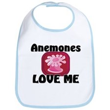 Anemones Love Me Bib
