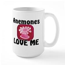 Anemones Love Me Large Mug