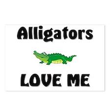 Alligators Love Me Postcards (Package of 8)