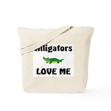 Alligators Love Me Tote Bag