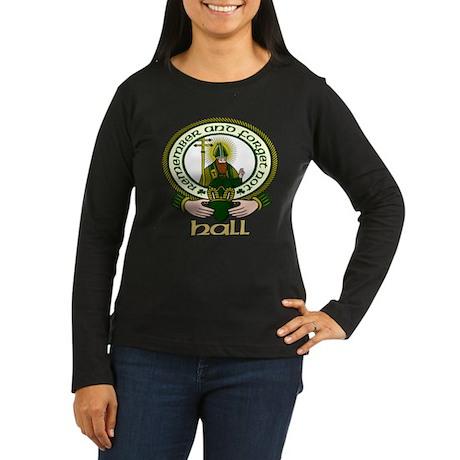 Hall Clan Motto Women's Long Sleeve Dark T-Shirt