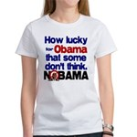 Lucky for Obama Women's T-Shirt