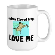 African Clawed Frogs Love Me Mug
