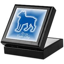 Azores Cattle Dog Keepsake Box