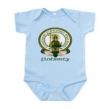 Flaherty Clan Motto Infant Bodysuit
