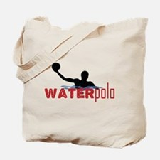 waterpolo silhouette Tote Bag
