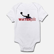 waterpolo silhouette Infant Bodysuit