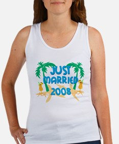 JUST MARRIED 2008 Women's Tank Top
