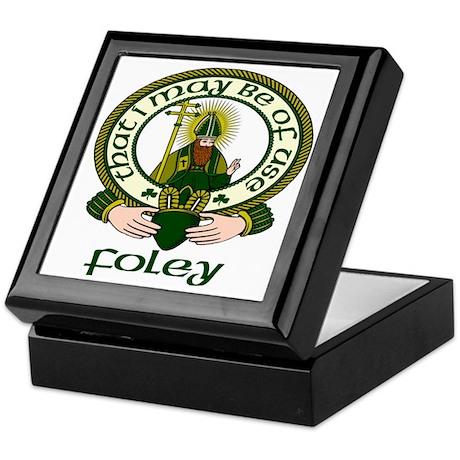 Foley Clan Motto Keepsake Box