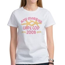 Just Married Cape Cod Tee