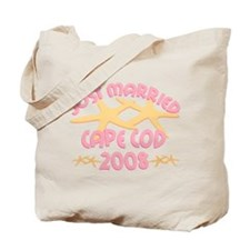 Just Married Cape Cod Tote Bag