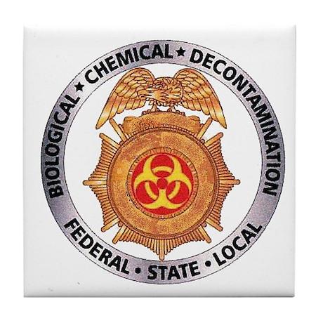 Bio-Chem-Decon Tile Coaster