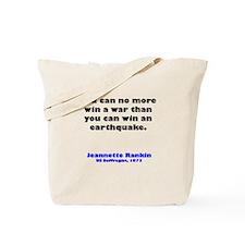 Funny Antiwar Tote Bag