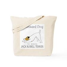 Downward Dog Jack Russell Terrier Tote Bag