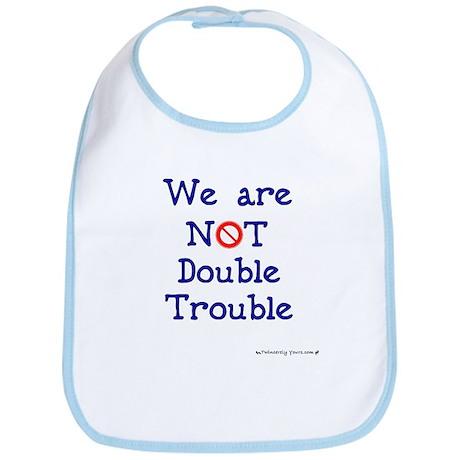 NOT Double Trouble Bib