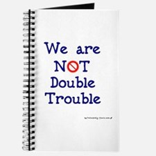 NOT Double Trouble Journal