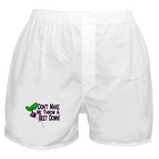 Beet Down Boxer Shorts