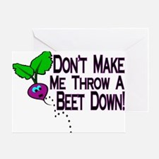 Beet Down Greeting Card