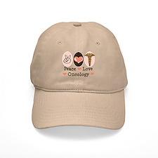 Peace Love Oncology Baseball Baseball Cap