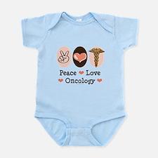 Peace Love Oncology Infant Bodysuit