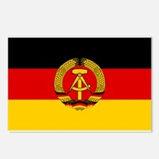Flag of East Germany Postcards (Package of 8)