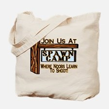 Spawn Camp Tote Bag