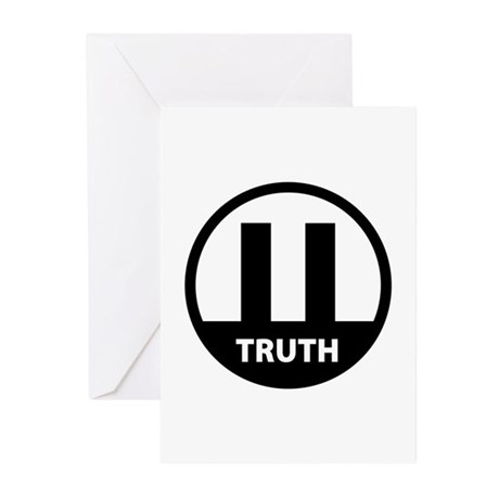 9/11 TRUTH Greeting Cards (Pk of 10)
