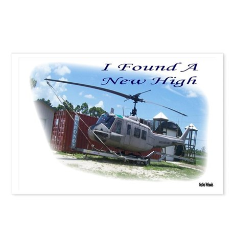 I Found A New High Postcards (Package of 8)