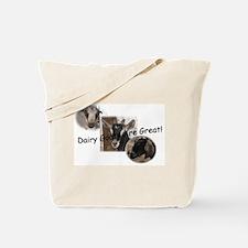 Unique Lamancha goats Tote Bag