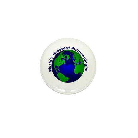 World's Greatest Pulmonologis Mini Button