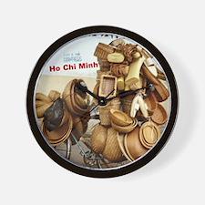 Ho Chi Minh City Art - Wall Clock
