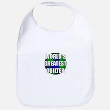 World's Greatest Quilter Bib