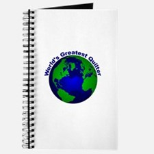 World's Greatest Quilter Journal