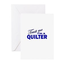 Trust Me I'm a Quilter Greeting Cards (Pk of 10)
