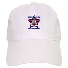 Patriotic Blue Merle Sheltie Baseball Cap
