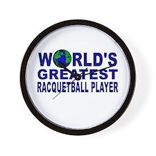 World's Greatest Racquetball Wall Clock