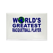 World's Greatest Racquetball Rectangle Magnet