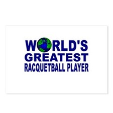 World's Greatest Racquetball Postcards (Package of