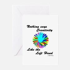 Left Handed Creativity Greeting Cards (Pk of 10)