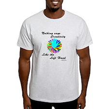 Left Handed Creativity T-Shirt