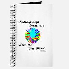 Left Handed Creativity Journal