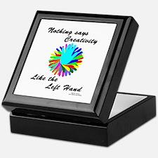 Left Handed Creativity Keepsake Box