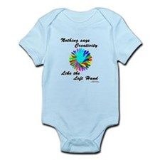 Left Handed Creativity Infant Bodysuit