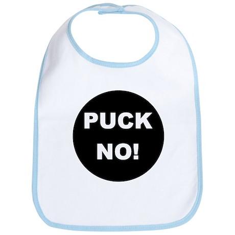 Hockey Puck No! Bib