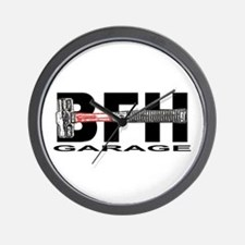 BFH Garage Wall Clock