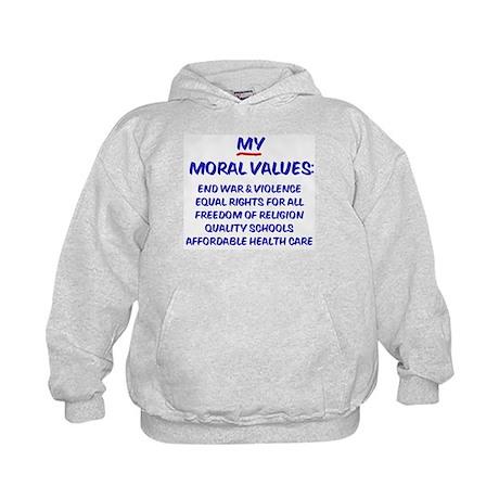 My Moral Values Kids Hoodie